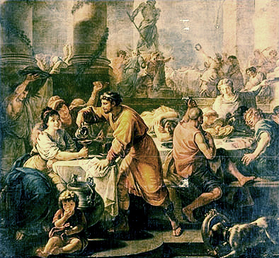Saturnalia az ókori Rómában forrás: mindennapi.hu