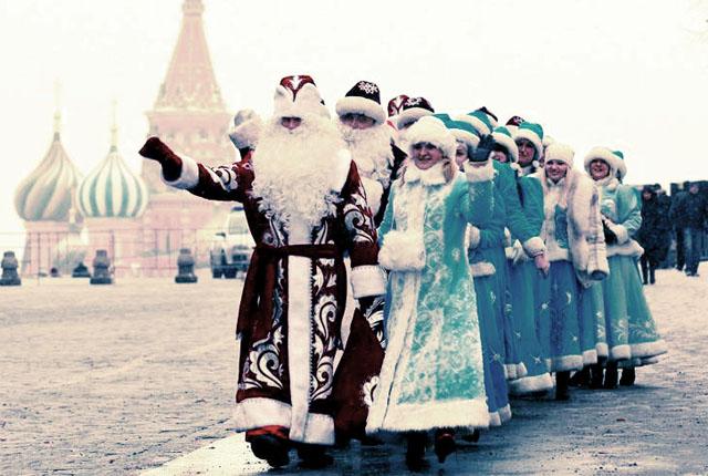 Szilveszteri szokások Oroszországban