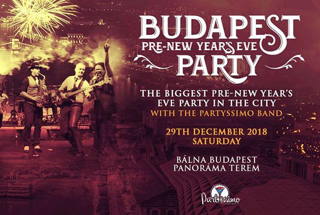 Budapest legnagyobb Előszilveszteri házibulija a PartYssimoval