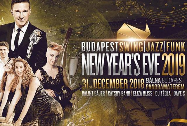 Budapest Swing Jazz Funky Szilveszter a Bálnában