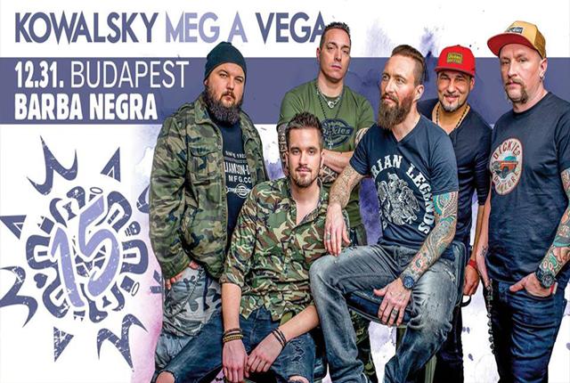 Kowalsky meg a Vega szilveszter 2018
