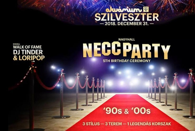 Akvárium Szilveszter // Hollywoodi kiadás // w NECC PARTY