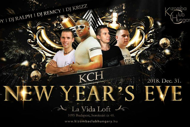 New Year's Eve - Kizomba Club Hungary