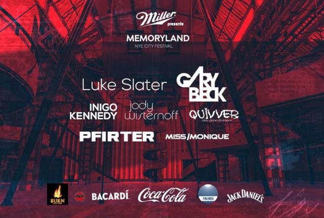 Miller pres. MemoryLand 2018 NYE Festival
