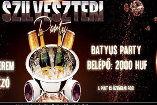 Szilveszteri Party Császáron /Batyus buli/