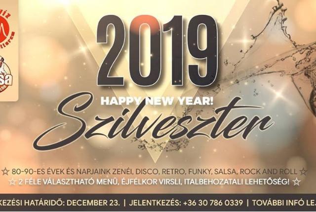 Szilveszter Eger 2018 - Salsa De La Noche