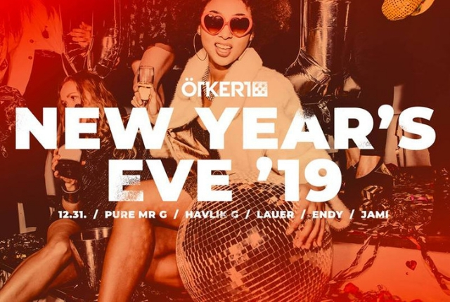 ★ HELLO 2019 ★ New Year's Eve by ÖTkERT!