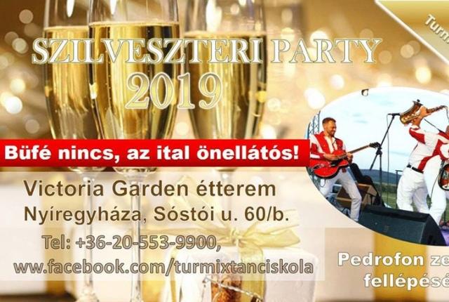 Szilveszteri party Nyíregyházán!