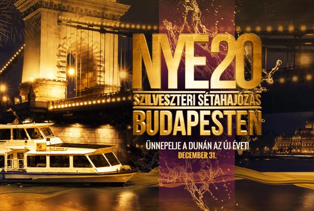 Budapesti Szilveszteri Sétahajózás a Dunán Svédasztalos Vacsorával és korlátlan italfogyasztással Retro bulival