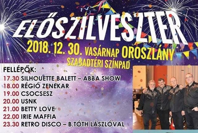 Szilveszter Oroszlány 2018