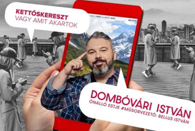Dombóvári István önálló estje szilveszterkor a BKK-ban