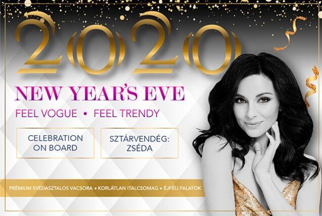 New Year's Eve 2020 ∙ Szilveszter a Vogue Hajón