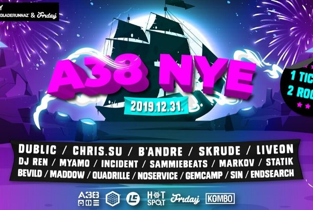 Next Level & Bladerunnaz & Friday: A38 NYE
