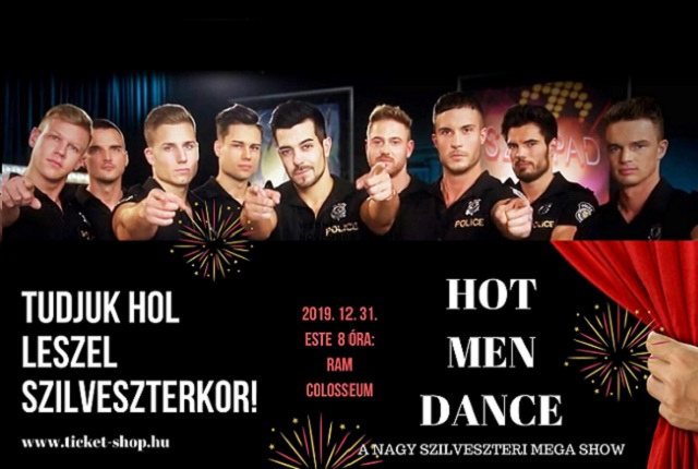 Szilveszteri Hot Men Dance Megashow