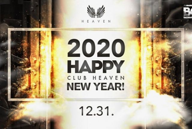 Happy! New year party - Club Heaven