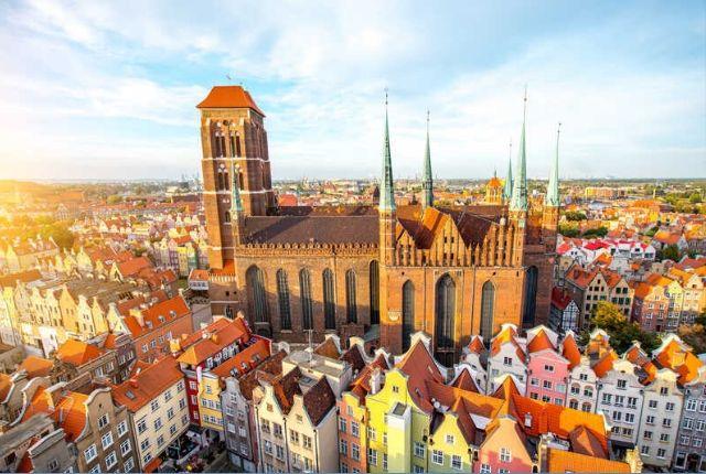Óévbúcsúztatás a lengyelországi Gdańskban