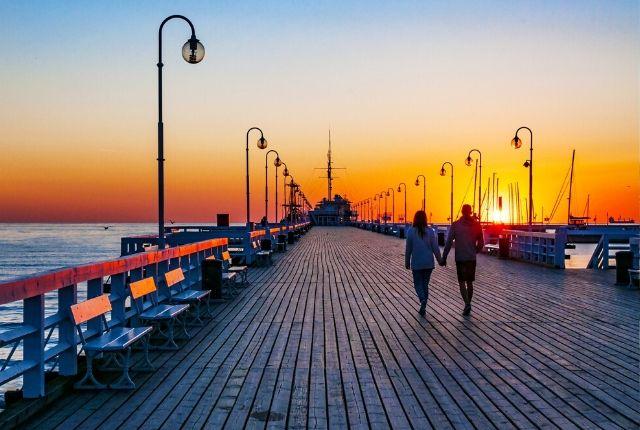 Szilveszter a lengyelországi Sopotban